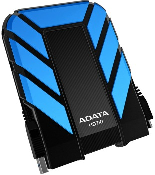 Adata External HDD Adata DashDrive HD710 2TB USB3 Yellow, Waterproof & S